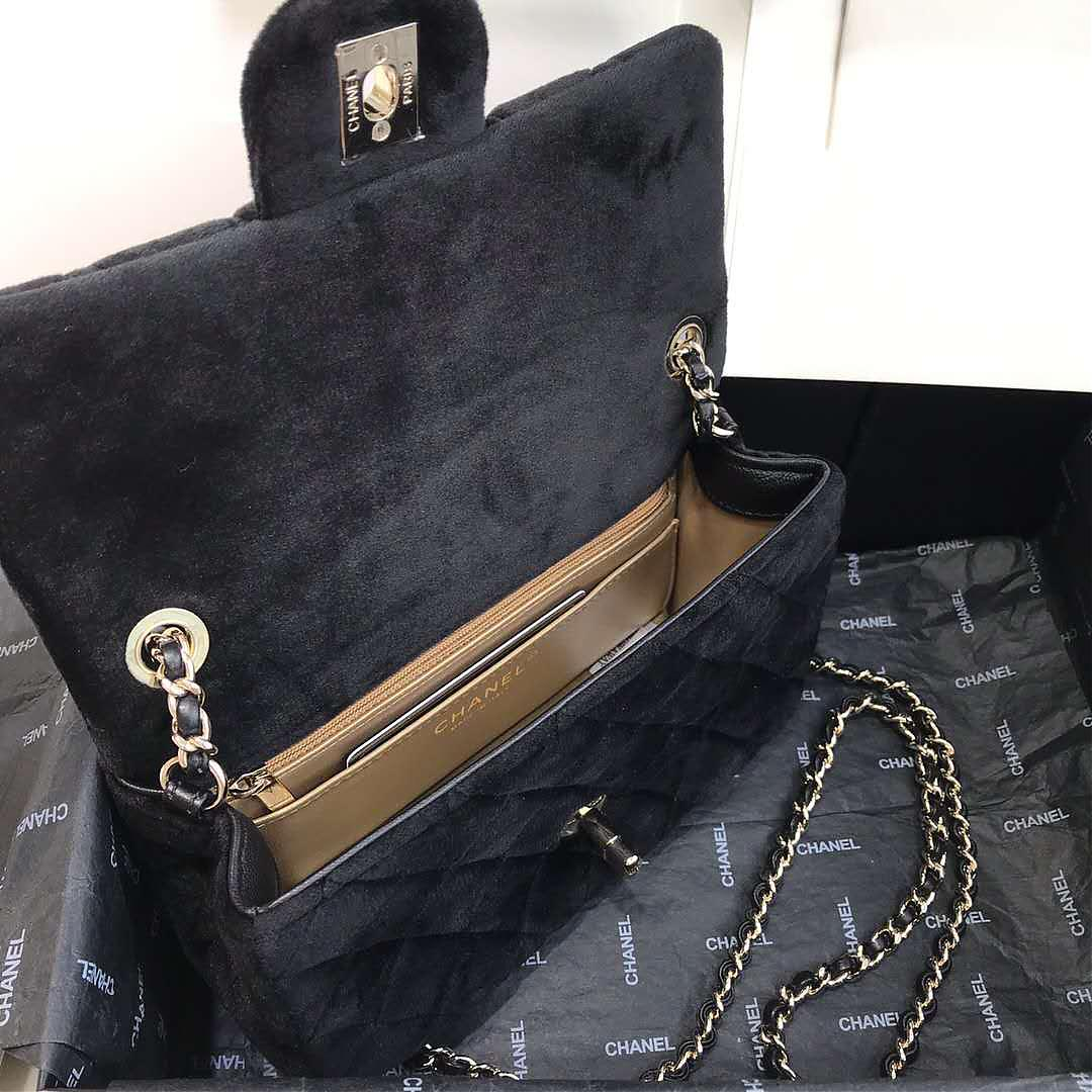 香奈儿最新cf丝绒金丝球包Chanel新款颜色合集方胖子包包
