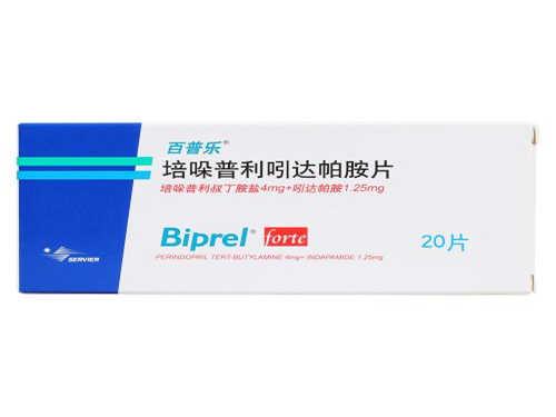 百普乐的功效和作用 百普乐培哚普利吲达帕胺片的副作用